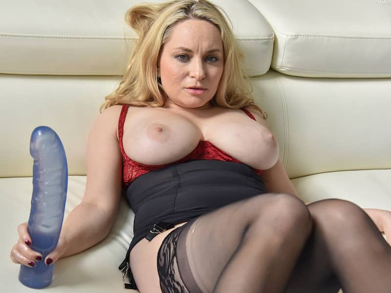 blonde milf with huge tits photo