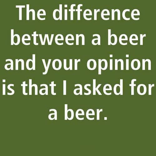 Asked for a beer meme