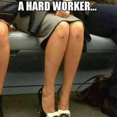 Hard on working knees